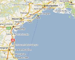 Camping bord mer languedoc roussillon - Ville bord de mer mediterranee ...